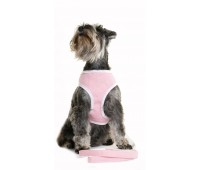 Puchi Softy Harness for dogs in Pink X Large